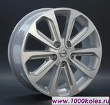 Replica 17x6.5 5/114.3 ET40 D66.1 NS69 GMF