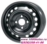 R-STEEL 6x15 4x108 ET27 D65.1 YA638 Black