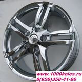TOYOTA 8,0x18 5/150 ET45 D110,5 TY232_Chrome LC100 / LC200