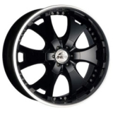 Antera 361 9,5x20 6/139,7 ET12 d110,1 Racing Black Lip Polished