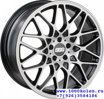 BBS RX300 8,5x19 5/112 ET45 d82 Satin Black Diamond Cut (0362402#)