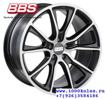 BBS SV006 10,0x20 5/130 ET40 d71,6 Satin Black Diamond Cut (0561350#)