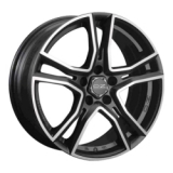 OZ Racing Adrenalina 8x17 5/114,3 ET45 d75 MATT BLACK DIAMOND CUT