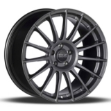 OZ Racing SuperTurismo LM 7,5x17 5/120 ET47 d79 MATT RACE SILVER BLACK LETTERING