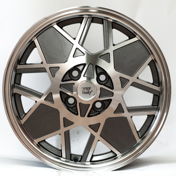 WSP Italy 500 Sport Restyling W158 6X15 4X98 ET35 d58,1 ANTHRACITE POLISHED (RFI15605835ANF)