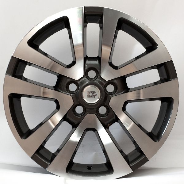 WSP Italy ARES W2355 9,5X20 5X120 ET53 d72,6 ANTHRACITE POLISHED (RLR20955553MNQ)