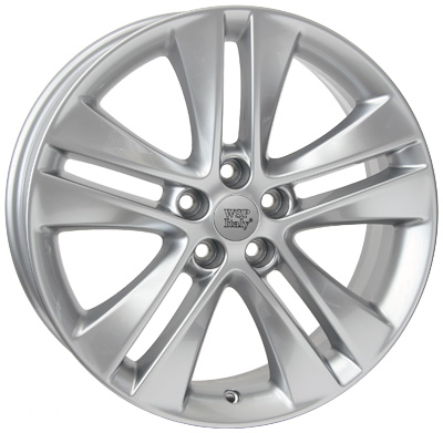 WSP Italy ASTRA W2507 7X17 5x105 ET42 d56,6 HYPER SILVER (ROP17700742XLD)
